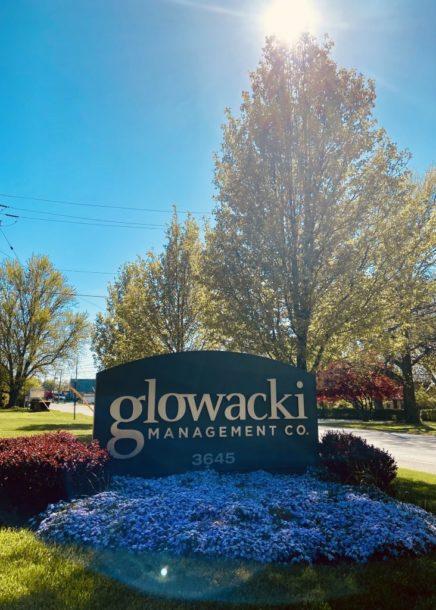 Glowacki Front Sign